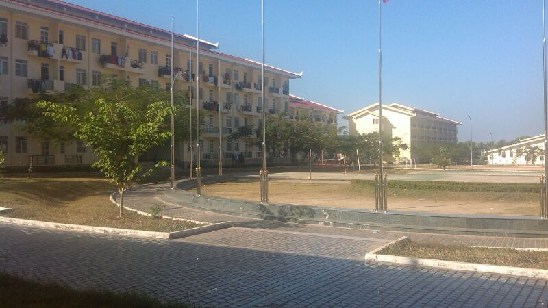 SEAGAME DORMITORY BUILDINGS AT THE NATIONAL UNIVERSITY OF LAOS