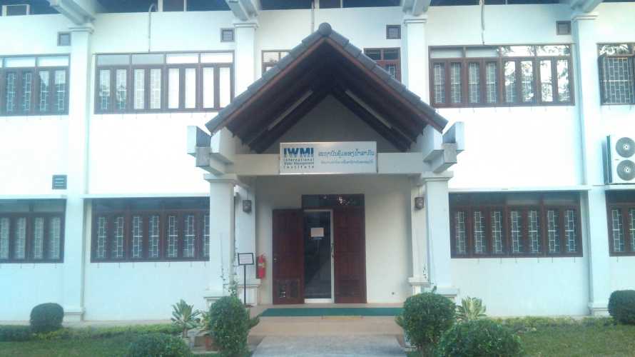 Head Office of the International Water Management Institute-Vientiane, Laos
